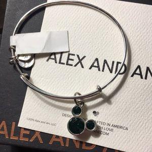 Alex &Ani Disney Mickey May birthstone bangle